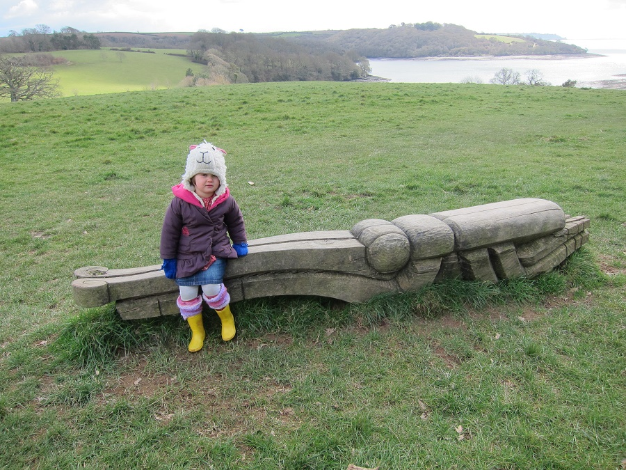 The Woodland Walk at Trelissick is perfect for a child friendly day out