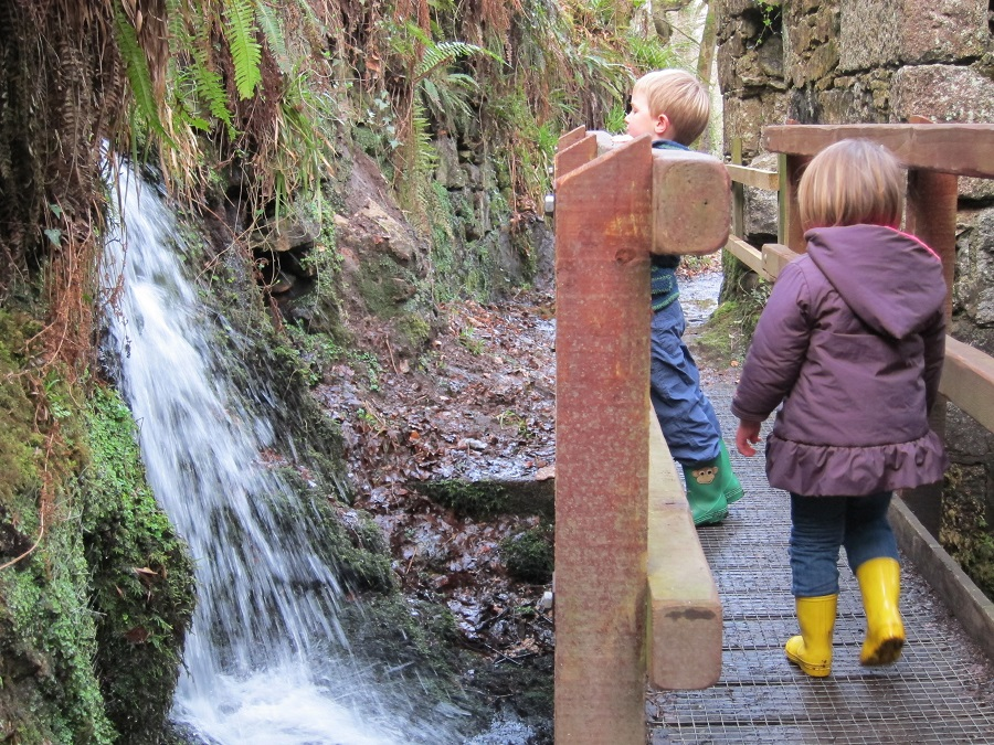 Kennall Vale is a paradise for adventurous families looking for a child friendly day out in Cornwall during the winter