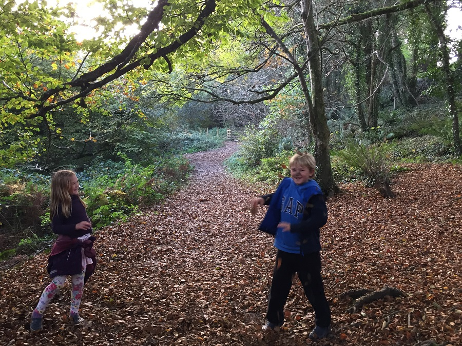 October is a wonderful time to explore Cornwall with children