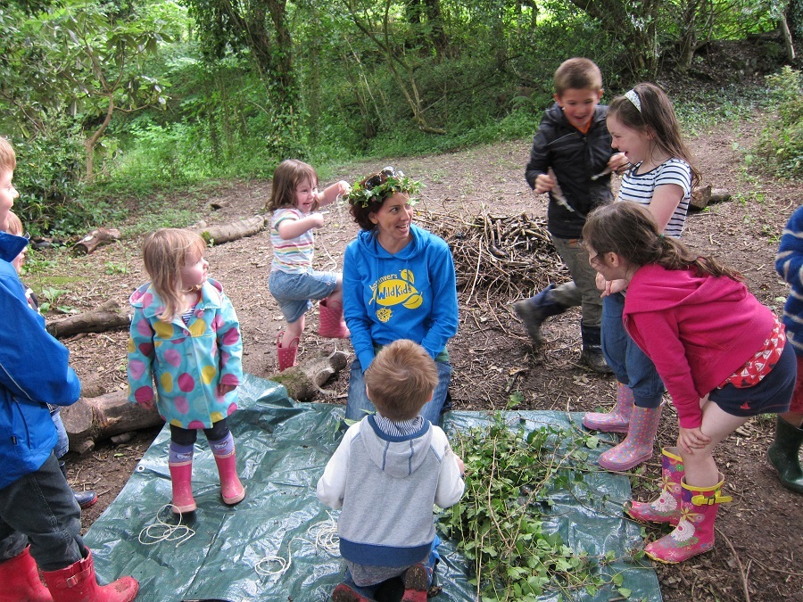 Bosinver's Wild Kids club helps kids engage with nature