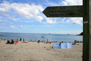 Swanpool coast path