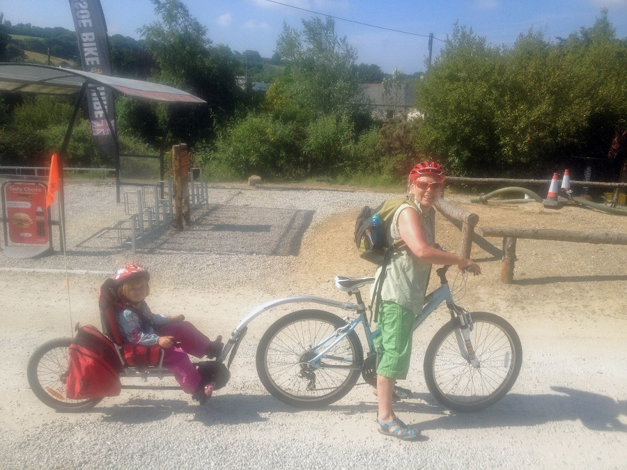 The Coast-to-Coast trail is popular with families who enjoy cycling