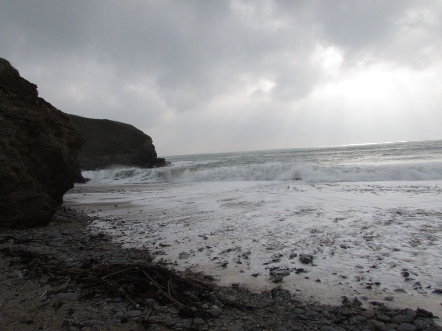 Gunwalloe's dramatic coastline made it perfect as a filming location for Poldark