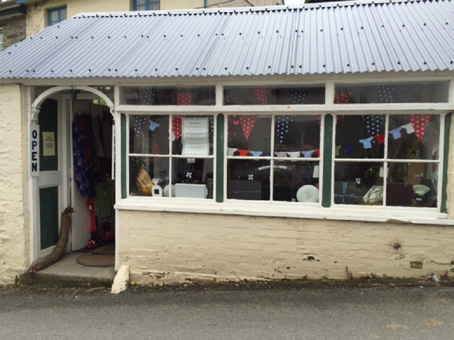 The Little Shop in Lerryn is full of interesting bric-a-brac