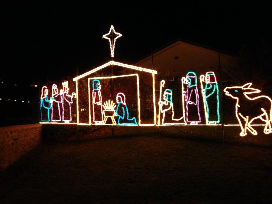 Angarrack Christmas lights