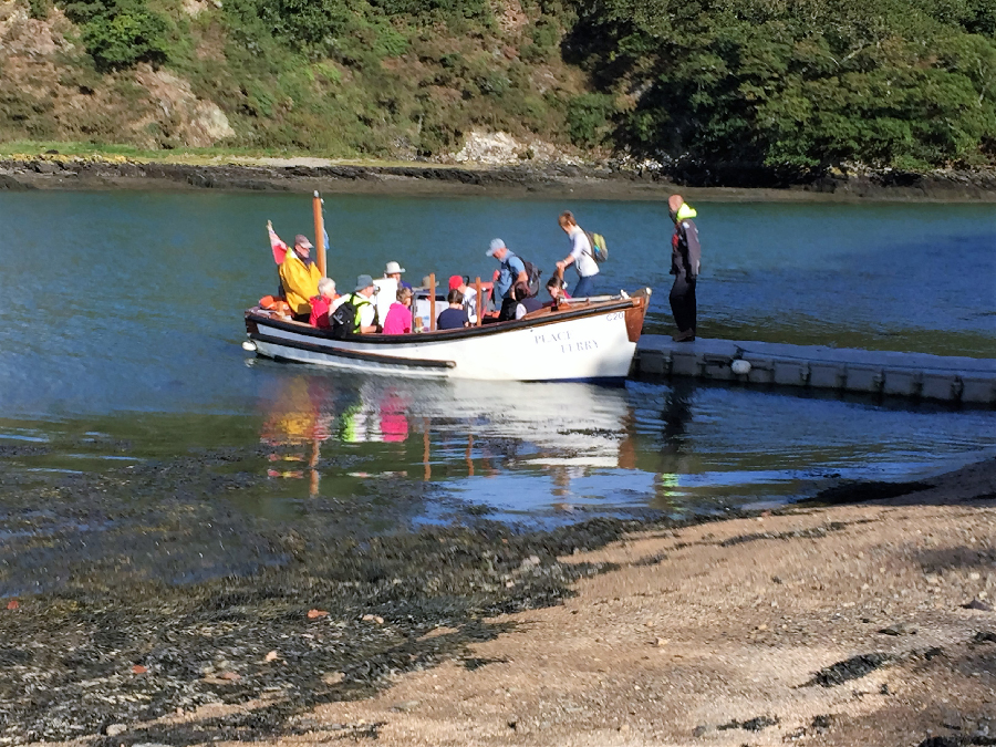 Special ferry for the Fal River Walk 2016