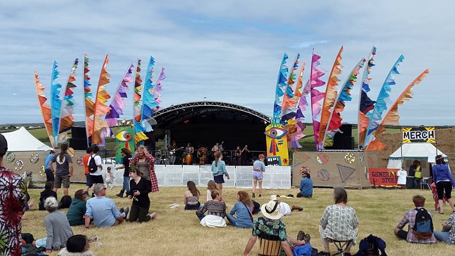 Tropical Pressure is a laid-back, family friendly festival in Cornwall