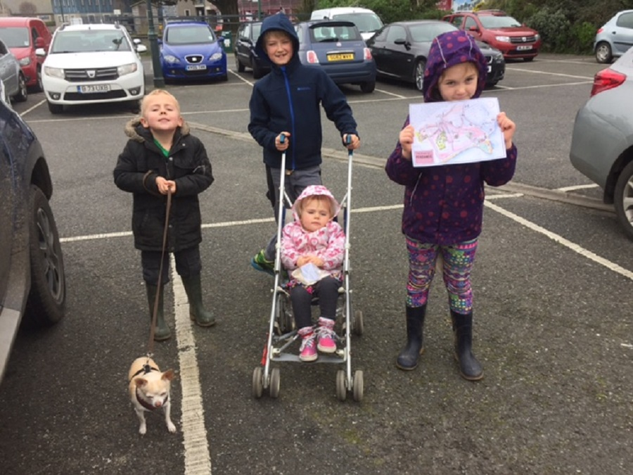 Spotty Dog Trails are ideal for primary school age children and preschoolers alike