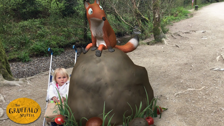 Meet all the characters in Julia Donaldson's popular book, The Gruffalo, on the Gruffalo Trail in Cardinham Woods