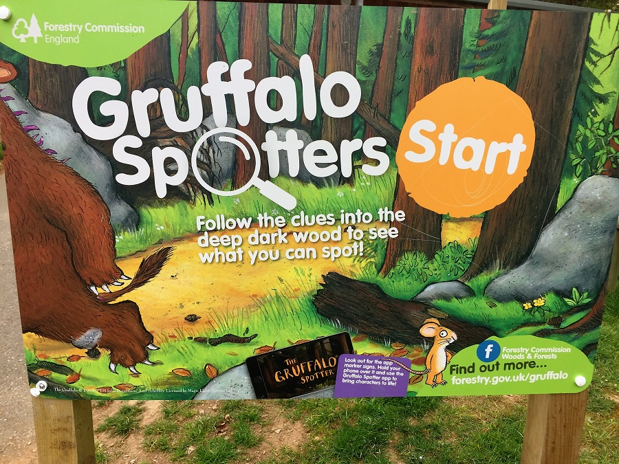 Ready for an adventure? Explore the Gruffalo Trail in Cardinham Woods