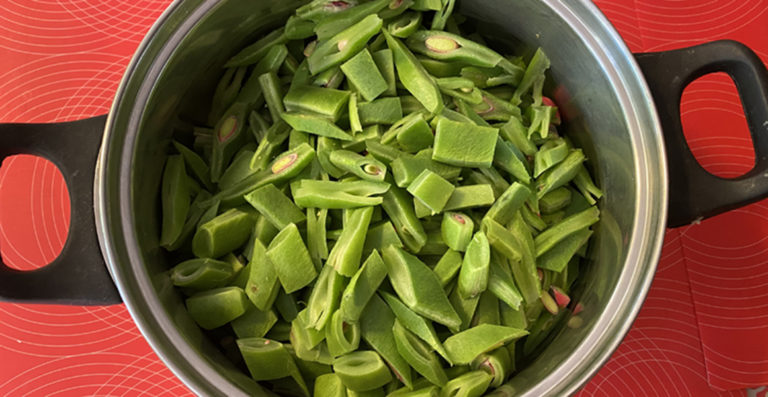 Runner bean chutney recipe