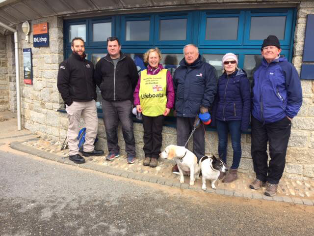 Support en route from Bude RNLI team