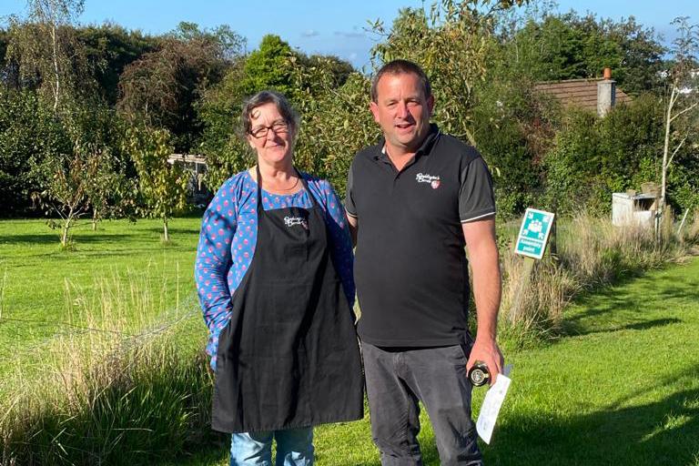 Phil and Louise Boddington