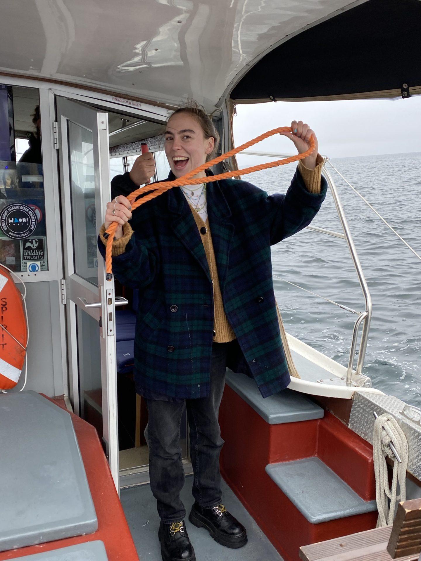 More rubbish retrieved from the sea on our sea safari