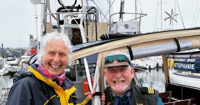 Action Nan aka Pat Smith with Captain Keith of AK Cruises